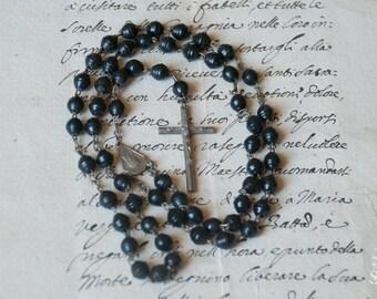 Old catholic italian rosary (011m)