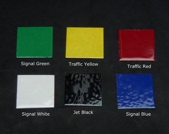 Primary Colors Powder Coating Collection
