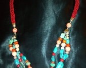 Statement Jewelry Beautifully Crafted Jay King Necklace and Bracelet Set Ready for Spring Summer