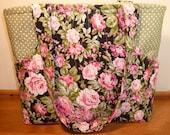 Floral cotton Handbag