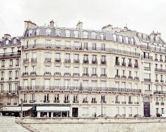 DISCOUNTED Parisian Fine Art, Affordable home decor, pastel Paris,Quai d'orleans