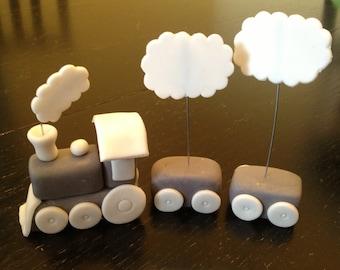 Fondant Train Cake Topper