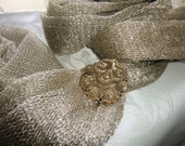 Scarf clip, gold tone,    pay for 3 different ones  - get  extra one free
