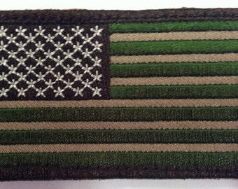 Multicam USA made Military Uniform Tactical Velcro Flag Patch