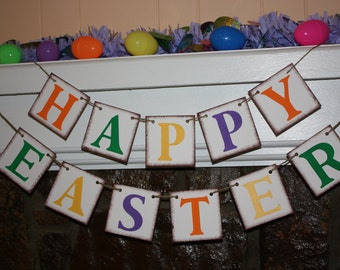 HAPPY EASTER Banner for You Easter Party