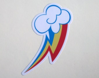 Rainbow Dash Cutie Mark Sticker