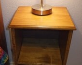 Solid wood Night stand, bed table