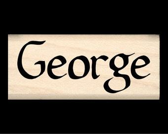 Name Stamp - George