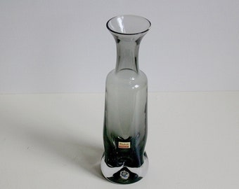 Vintage Friedrich kristall crystal glass vase West Germany