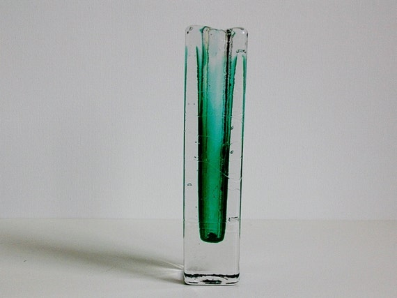 Schott Zwiesel Vase : mid century schott zwiesel crystal glass vase solifleur ~ Whattoseeinmadrid.com Haus und Dekorationen