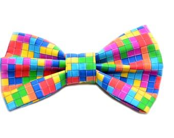Tetris Themed Bow Tie