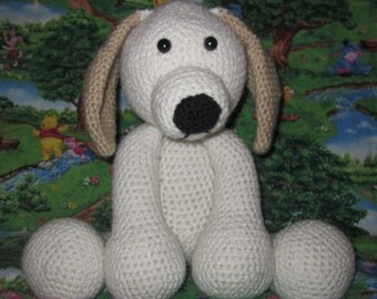 The Adorable Puppy crochet pattern