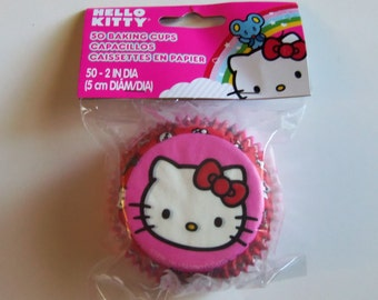 Hello Kitty Cupcake Liners - Baking Cups (Qty 50)