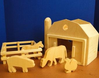 Barn and Farm Set (083)