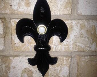 Fleur de Lis Doorbell Cover