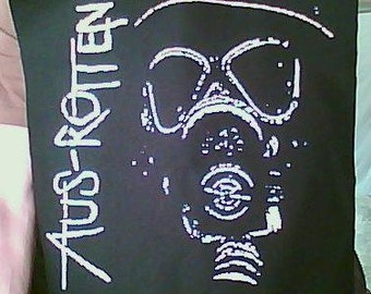 Aus-Rotten punk backpatch