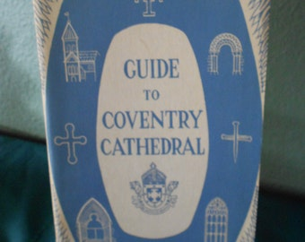 Religious Booklet St Michaels Cathedral England RARE HISTORICAL Booklet Guide to Cathedral in England Out of Print Free Shipping in USA
