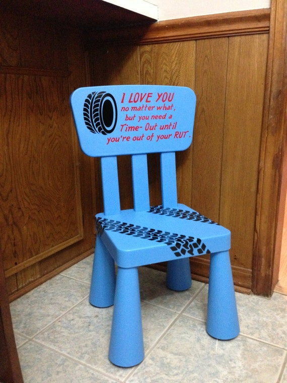 Unavailable listing on etsy for Kids chairs for boys