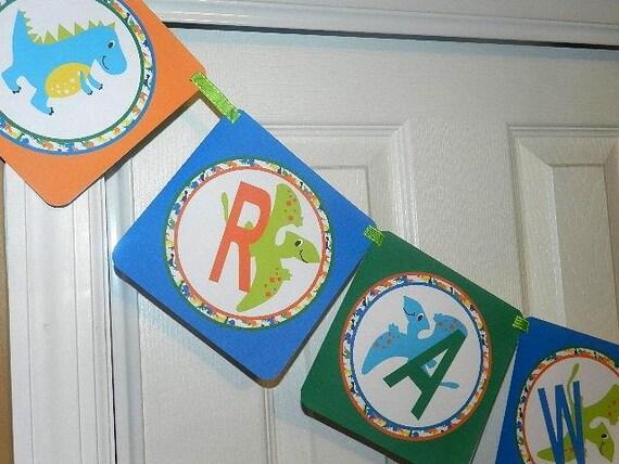 ... Dinosaur Birthday Party- Dinosaur Birthday Decorations-Dinosaur Banner