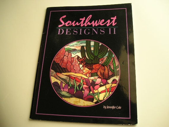 Stained Glass Pattern Book Southwest Designs Ii Supplies