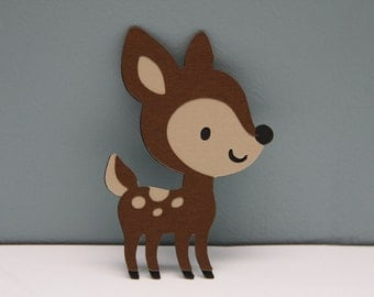 Deer Die Cut-Set of 8