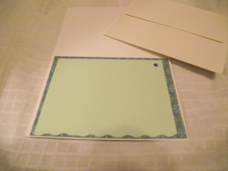 Handmade bridal shower card green bridal shower card homemade handmade bridal shower card green bridal shower card homemade card greeting cards kristyandbryce Image collections
