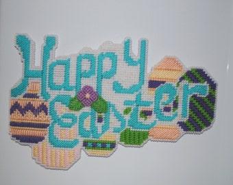 Happy Easter magnet decoration for fridge