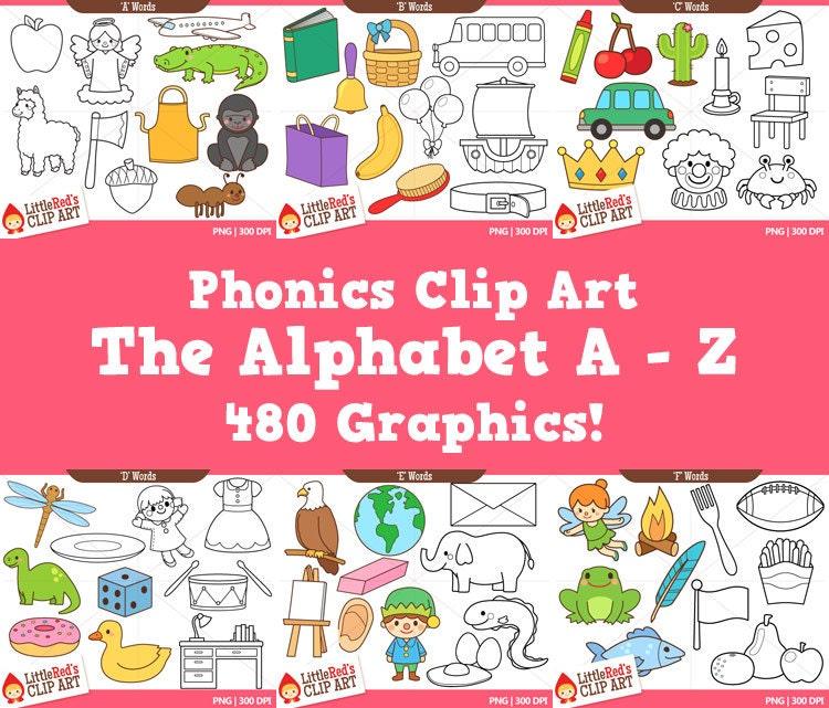phonics clip art alphabet pack 1 - photo #2