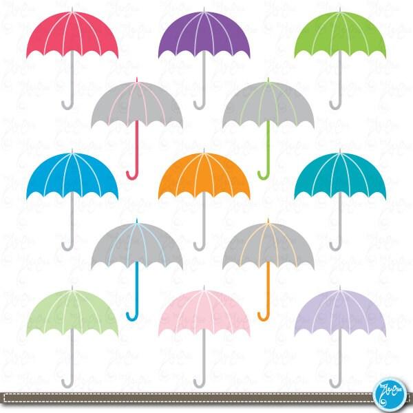 rainbow umbrella clip art - photo #22