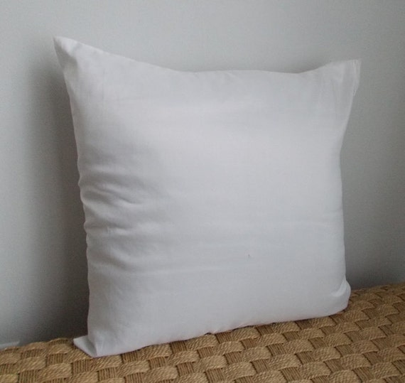 18 x 18 pillow insert at in full bloom by infullbloomco on etsy. Black Bedroom Furniture Sets. Home Design Ideas