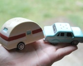 Items Similar To Quirky Car And Rv Salt And Pepper Shakers