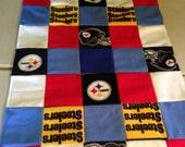 Large Dog Steelers Blanket