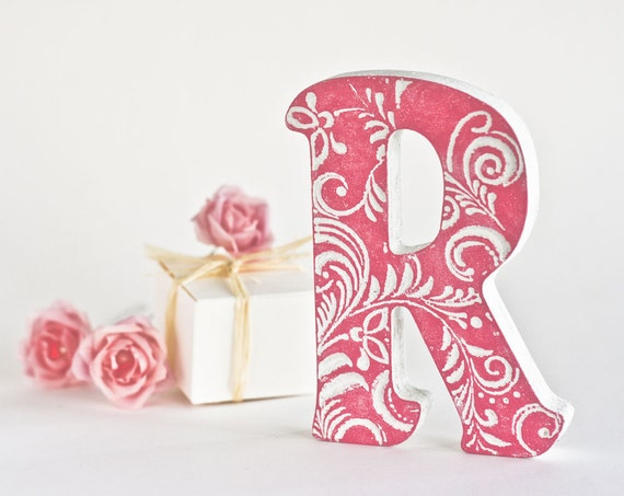 Alphabet Wall Decor Wooden : Letter gifts art wedding letterwooden letters for