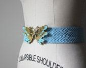 Azul Butterfly Elastic Belt
