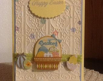 Happy Easter Basket Card E09