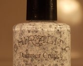Dahmer Crunch. Glitter nail polish. (15 mL, .5 oz) ROUND BOTTLE