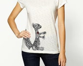 SALE Squirrel Vintage Tshirt-Women's Enter code ACORN at checkout for 10% OFF - SquirrelSix
