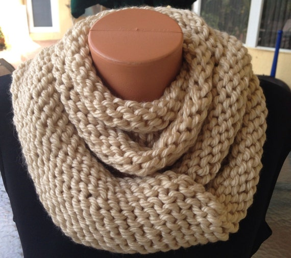 chunky cream knit infinity scarf, knitted wool ribbed cowl circle scarf / Ivy / Oatmeal. Find this Pin and more on Products by Etsy. See more. The Ombré Cowl | COCOA | Mens Chunky Knit Ombré Oversized Huge Textured Winter Cowl Scarf. Find this Pin and more on Products by Etsy.