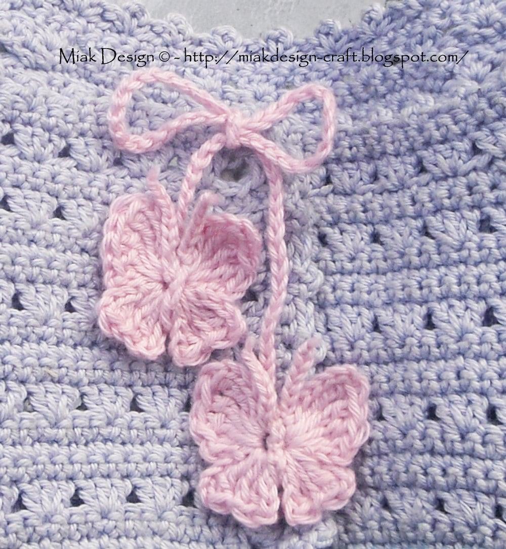 Free Crochet Motif Patterns Download : Butterfly FREE Tutorial Instant Download PDF Crochet Pattern