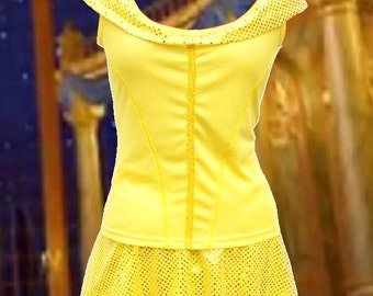 Belle inspired running outfit