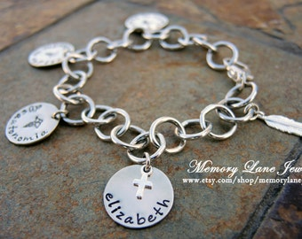 Medic Alert Bracelet  - Stainless Steel Links