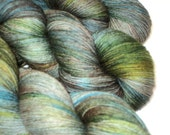 Titan, Sock/fingering weight, 75/25% superwashed merino and mulberry silk, Hand-dyed yarn