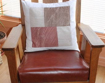 """Decorative slip cover for 20x20"""" pillow"""