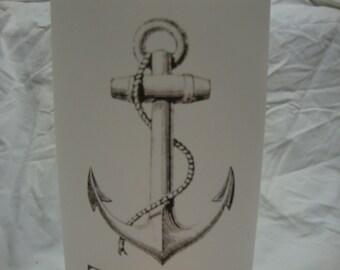 Nautical Wedding Luminary Table Numbers      Wedding Paper Luminaries (20)