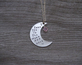 I Love You To The Moon And Back - Large