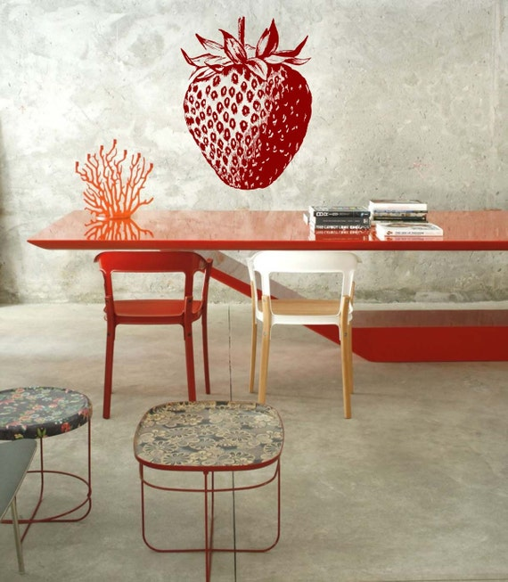 Home Decor Decorating With A Strawberry Theme On A Small