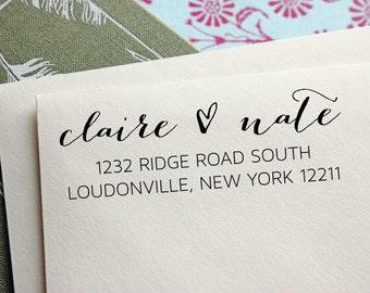 Address Stamp - Custom Address Stamp - Self Inking Address Stamp - Wedding Gift - Housewarming Gift
