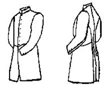 PI711 - Civil War Era Jr. Officer's Frockcoat Sewing Pattern by Period Impressions