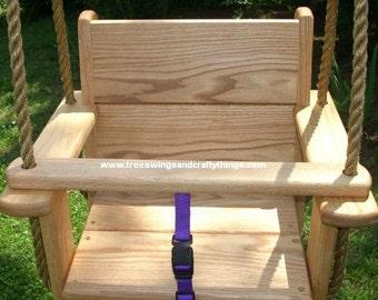 Red Oak Kids Seat Swing