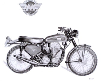 1957 Matchless motorcycle